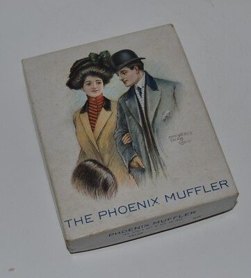 "Unbelievable Survivor, ""The Phoenix Muffler"", C.1908, original box, No reserve."