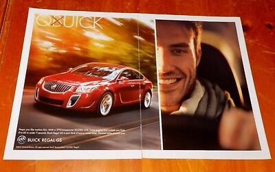 Cool 2012 Buick Regal Gs In Red Quick Ad - American Gm Auto