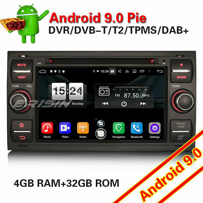 Android 7.1 Autoradio GPS NAVI DVD DAB+LCD for FORD FOCUS FIESTA TRANSIT S/C-Max