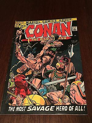 Marvel Conan The Barbarian #12 In Fine- Condition..rare Issue...wow!