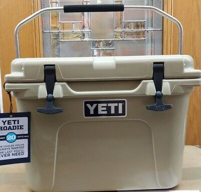 YETI 20  Roadie  COOLER -  TAN - New  - SAME DAY FREE SHIP
