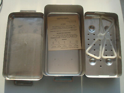 Vintage Soviet Medical Sterilization Sterilisator Stainless Steel Big Box NEW