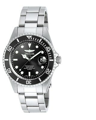 Invicta 8932OB Men's Coin Edge Bezel Black Dial Pro Diver Watch (aka 8932C)