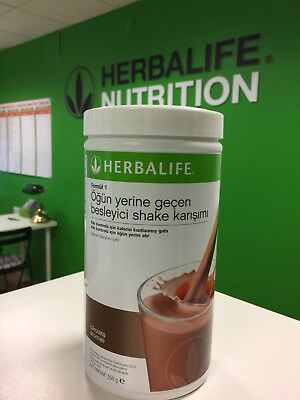 Herbalife Formula Powder Chocolate Shake Delicious Meal Replacement 550 g