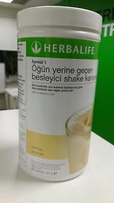 Herbalife Formula 1 Vanilla Shake Delicious Meal Replacement 550 g