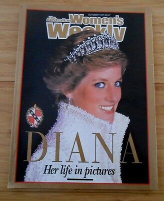 Women's Weekly - Diana Her Life In Pictures - Oct 1997 Edition
