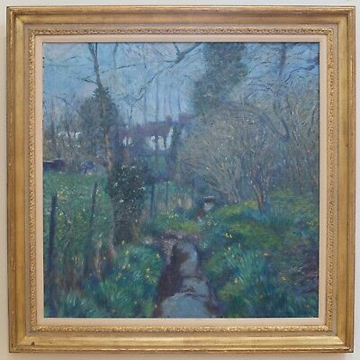 CHRISTOPHER SANDERS ORIGINAL Early 20th Century Oil Painting Landscape