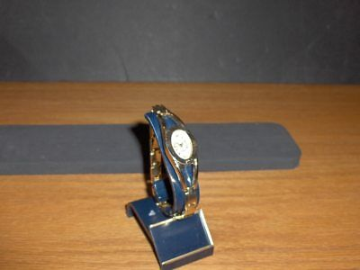 White Stag Watch-Mother Of Pearl Face With Gold  Band   M-43