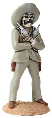 """Dod Day Of Dead Pancho Villa Figurine Statue   - New 6.5"""" Free Shipping"""