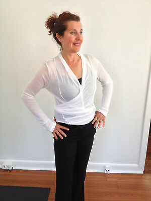 Gauze Cardigan Sweater Rayon Feather weight Multi Style GREAT 4 YOGA- NOW $7.