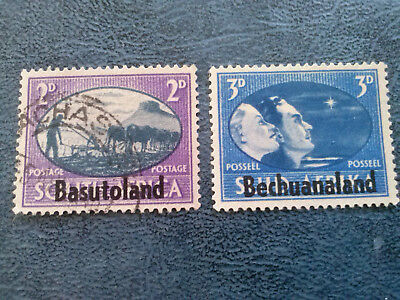 Basutoland - imprinted on South Africa USED