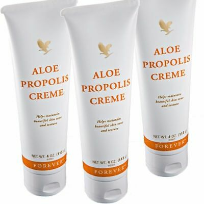 3 Forever Living Aloe Propolis Creme-maintain beautiful skin, 4oz/each -Exp.2022