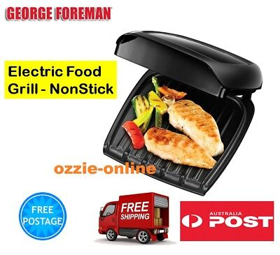 Electric Cooking Grill George Foreman Cook Fry Sandwich Toaster Wrap Grill Press