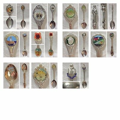 1 Souvenir Spoon - Variety of Designs and Places