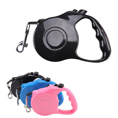 Retractable Dog Lead Tape Extendable Leash Pet Training 3m/5m Heritage Dogs UK