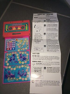 Flipsiders - RARE - Slumber Party - Milton Bradly 1988 with Instructions!
