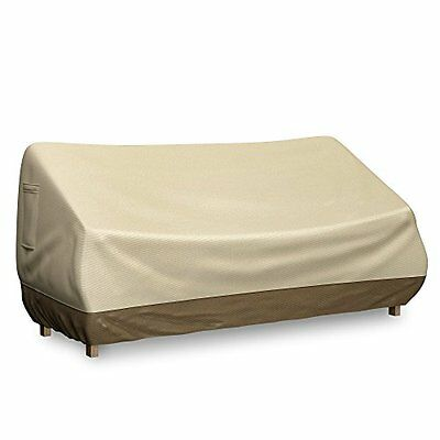 Bench Cover For Outdoor Loveseat Patio Sofa - Fits Seats Up To 58 Inches Water