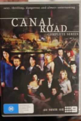 Canal Road Rare Deleted Oop Dvd Australian Tv Show  - The Complete Series