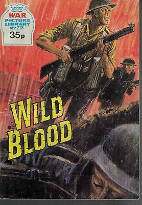 1989 No 218 35063 War Picture Library  WILD BLOOD