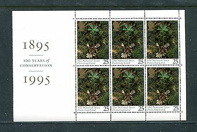 GREAT BRITAIN 1607a, 1995 25p PROTECTING LAND, BPOF6, MNH (ID5862)