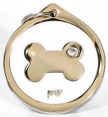 Best Quality Personalised BONE Pet Dog Cat ID Collar Tags Discs FREE  DELIVERY