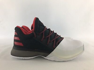 new product 70d95 b769c Adidas Harden Vol. 1 GS Pioneer Black White Red BW0630 BOOST Size 3.5 or  wmns