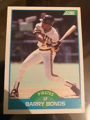 1992 Studio Pittsburgh Pirates Baseball Card 82 Barry Bonds