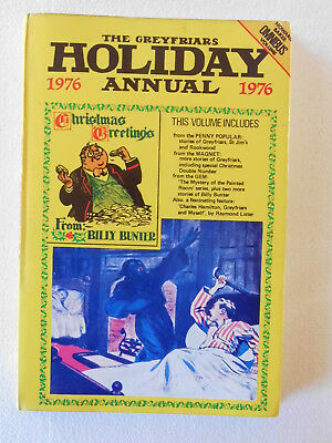 The Greyfriars Holiday Annual 1976 (HB) The Magnet, The Gem, Penny Popular