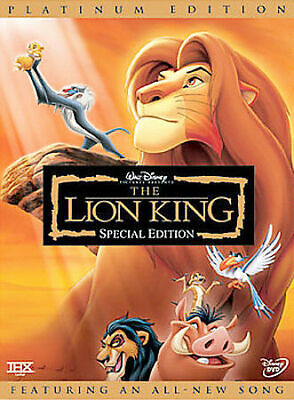 Walt Disney THE LION KING dvd PLATINUM EDITION 2 disc STILL SEALED w/ slipcase