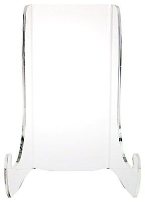 "Plymor Brand Clear Acrylic Flat Back Easel With Shallow Support Ledges 12"" H ..."