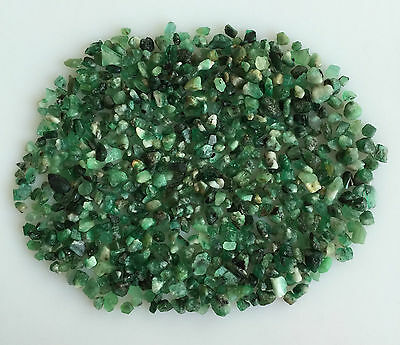 100Ct Scoop Natural Emerald Green Rough Gemstone Loose Mineral Lot Raw Wholesale