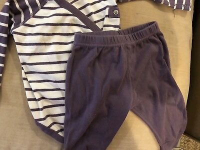 hannah andersson 70 (9-12 months) - outfit pajama set