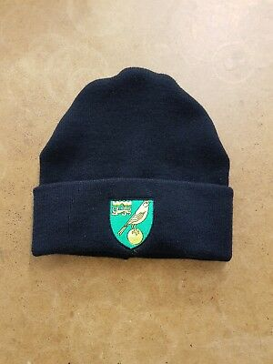 Norwich City  wooly HAT Beanie hat The Canaries