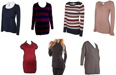 Maternity Jumpers Size 8 - 16 various Colours