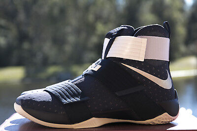3e4880b200d New Nike Lebron Soldier 10 Tb Promo 856489 442 Navy Mens Sneakers Sizes 14