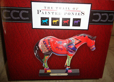 """NEW Trail of the Painted Ponies """"MYSTIC"""" CERAMIC HORSE 1st Edition #3203, NIB"""