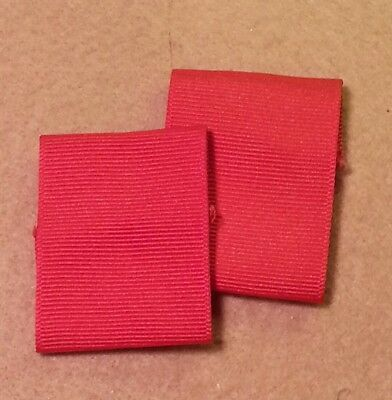Bsa Boy Scout Red Shoulder Loops - Discontinued -(2 Loops) Pre-Owned -   B00190A