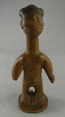 "Vintage African Carved Wood Standing Figure, 6 7/8"" t. 2nd ½ 19th/20th cent."