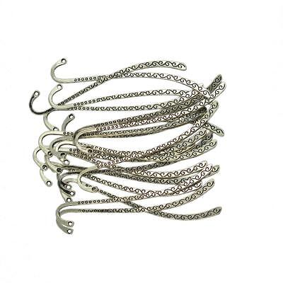 20pcs Tibetan Silver Beading Line Metal Charms Bookmark Retro Wedding Favour