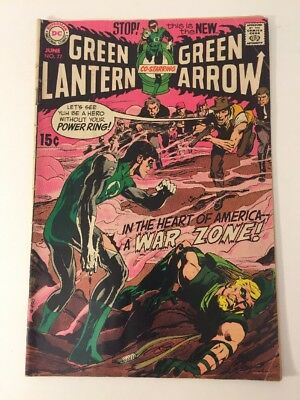 Green Lantern And Green Arrow 77 G-Vg