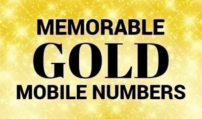 Easy Memorable Mobile Phone Numbers Pay-As-You-Go Sim Cards All Uk Networks