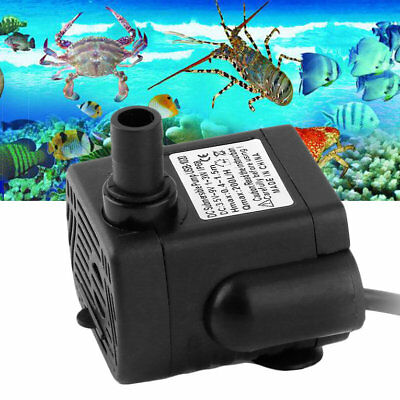 DC3.5-9V 3W Brushless DC Submersible Water Pump USB Fountain Fish Tank Pump