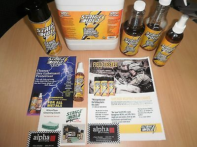 """STRIKE HOLD """"YOUTUBE VIDEO'S"""" Dry Lube/ Protectant / Metal Cleaner 16oz Spray"""