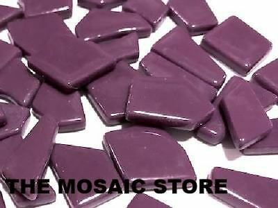 Purple Irregular Gloss Glass Tiles | Mosaic Tiles Supplies Art Craft