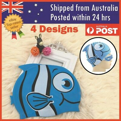 Children's Adult's Swimming Cap Silicone Waterproof Cap Head Bands Swimming