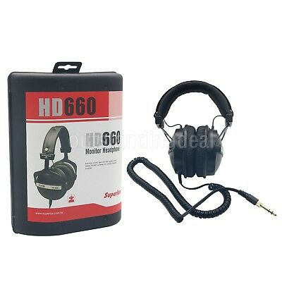Superlux HD-660 Gaming Monitoring Music Headphones Noise Canceling Clear Sound