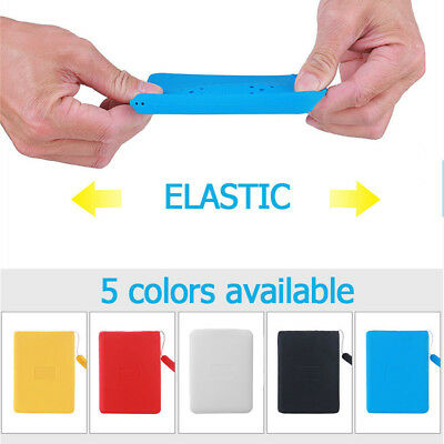 Hard Drive Silicone Bag Case Protector Shockproof Cover For WD My Passport 1T 2T