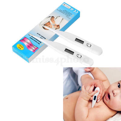 1x Digital Medical Thermometer LCD Body Underarm Fever First Aid Adult Child New
