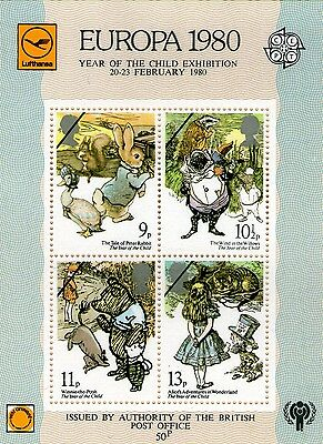 Stamp. Europa 1980 Year Of The Child Exhibition 20-23 February 1980