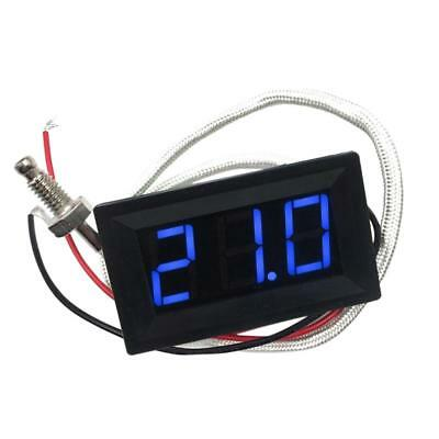 Blue DC 12V -30 to 800 C Digital LED Thermometer Temperature Detector Meter